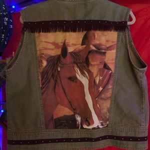 Other - Cowgirl Horse Vest